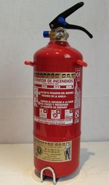Extintores caparros