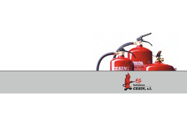 Extintores cesin