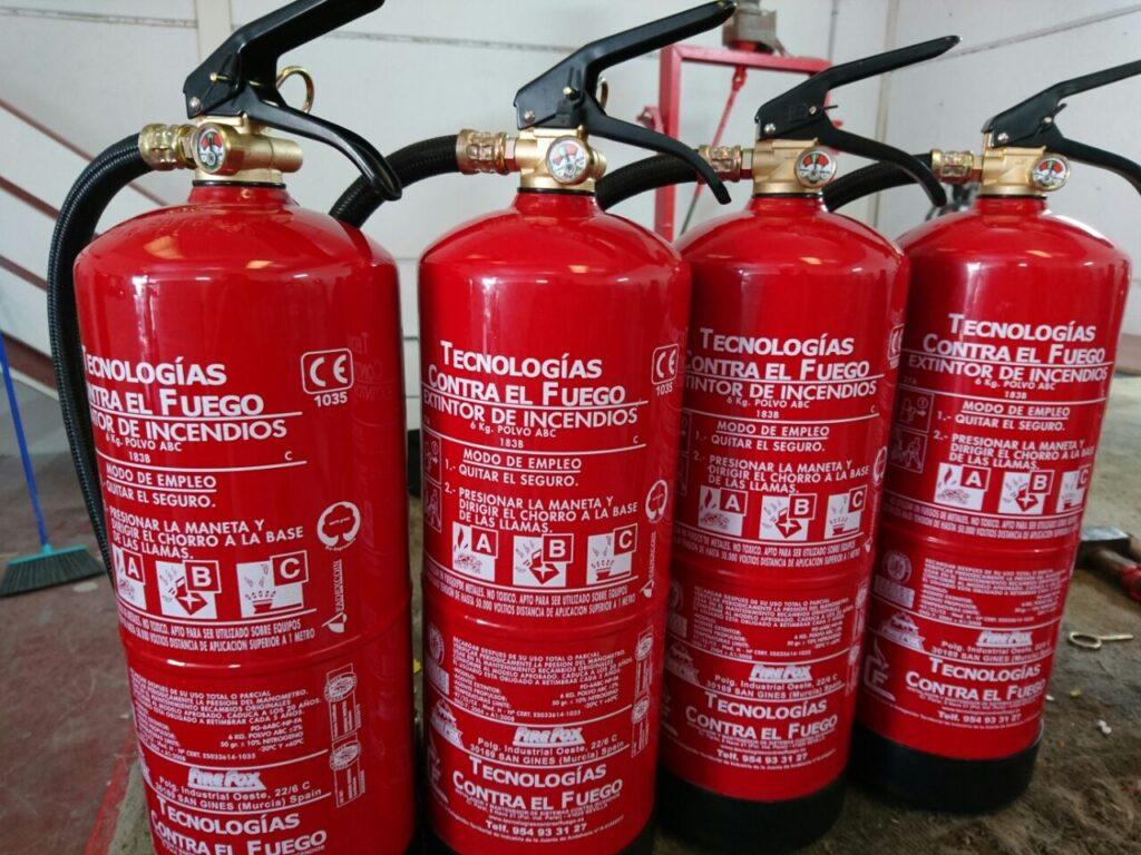 Extintores en sevilla